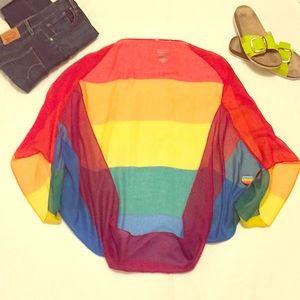 NWT - Merona Kimono Sheer Jacket